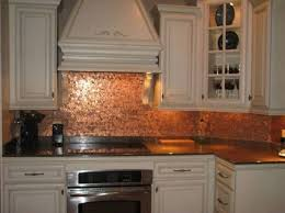 copper kitchen backsplash using copper backsplash for kitchen modern kitchen 2017