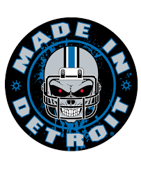 stickers made in detroit helmet skull sticker