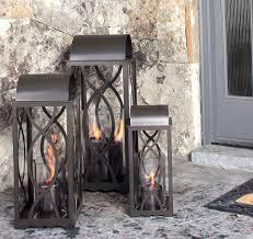 georgian outdoor steel bronze lantern
