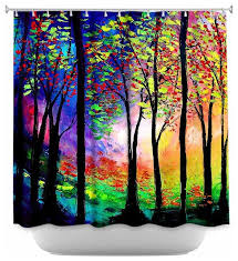Shower Curtain With Tree Design Shower Curtain Unique From Dianoche Designs Autumn Eve Ii