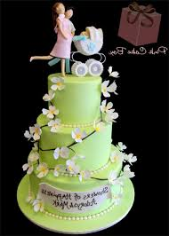 lime flower baby shower cake gallery picture cake design and cookies