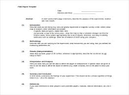 field report template 30 images of field report template tonibest