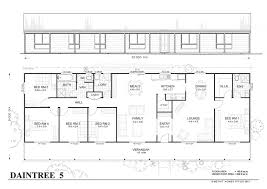 five bedroom house plans daintree met kit homes bedroom steel frame home floor plan