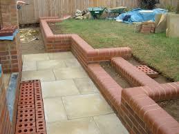 low brick wall perth salvaged new bricks perth