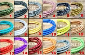 8m 2 0 75 edison textile cable fabric wire chandelier pendant lamp