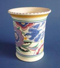 Poole Pottery Vase Patterns Ps Vase And Bluebirds On Pinterest