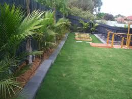 Narrow Backyard Landscaping Ideas by Landscape Design For Backyard Home Design