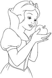 7 images snow coloring pages printable snow white