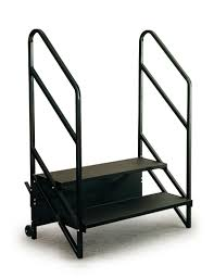 2 Step Handrail Legacy Stage Stairways Carts Railing Skirting Backdrops