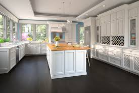gray kitchen cabinets with white appliances cool grey modern