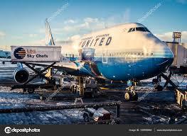 United Airline Stock United Airlines 747 U2013 Stock Editorial Photo Baiterek Media