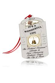 2013 portland ornament it s a wonderful silver anniversary t
