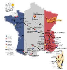 Tour De France Map by Tour De France U003e 100e Tour De France The Big Preview