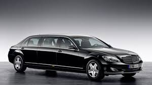 personal armored vehicles mercedes reveals an armored limo for dignitaries dictators roadshow