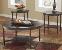 ashley furniture round coffee table ortanique dining room set rustic round coffee table set t277 ashley