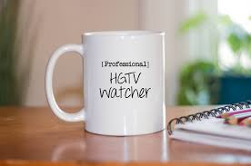 professional hgtv watching coffee mug funny coffee mugs