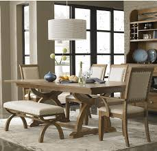 modern dining room tables that are on trend elegant bench