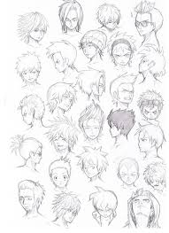 shonen hairstyles various hairstyles male by komodo92tenbinza on deviantart hair