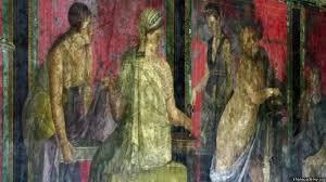 dionysiac frieze villa of mysteries pompeii video khan academy