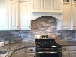 kitchen backsplash wallpaper faux veneer fireplace kitchen