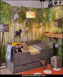 fresh inspiration forest themed bedroom beautiful design 1000
