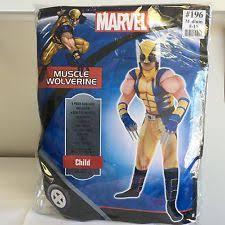 Halloween Costumes Wolverine Wolverine Costume Ebay