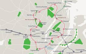 Copenhagen Map Lkab New Metro Ring In Copenhagen Denmark