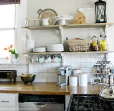 kitchen open shelving why open shelving works