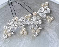 bridal hair pins pink flora pearl floral bridal hair pins flower pearls
