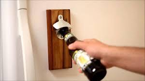 bottle opener wall mount magnet magnetic bottle opener youtube