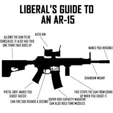 Democrat Memes - now that the democrat meme of weapons of war is being exploded a