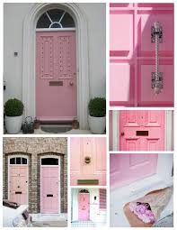 Designer Front Doors Exterior Color Inspirations The Unexpected Allure Of A U201cpink