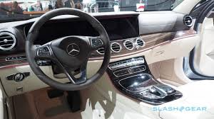 mercedes benz e class interior this is the 2017 mercedes benz e class slashgear