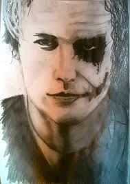 heath ledger joker pencil drawing by iloverienimparisien on