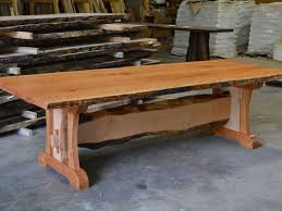 dining table walnut trestle dining table for dining table set