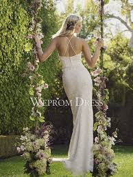 Clearance Wedding Dresses Scoop Neck Two Piece Clearance Wedding Dress Online