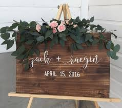 personalized wooden wedding signs wedding welcome sign welcome wedding sign custom wedding