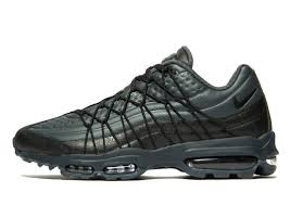 all black jaguar nike air max 95 mens footwear jd sports