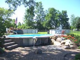 10 best semi inground pools images on pinterest semi inground