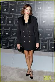 Jobs H M by Diane Kruger Stuns In Black At Balmain X Hm Launch Photo 3487667