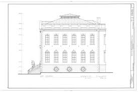 Charleston Floor Plan by File East Elevation Bank Of The United States 80 Broad Street