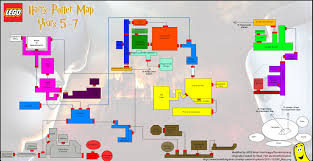 Map Of Harry Potter World by Lego Harry Potter Years 5 7 Hub Area Map U2013 Htg Happy Thumbs Gaming