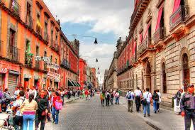 Mexico City Neighborhood Map by Mini Mexico City Guide Mexico City Streets