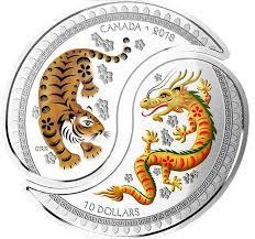 yang tiger 10 silver coin 2018 canada
