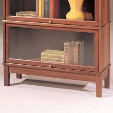 Glass Bookcase With Doors Bookcase Hale Barrister Bookcase Glass Door Section Tall White