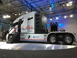 electric semi truck nikola one truck unveiled dci solution
