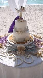 Wedding Cake Simple Simple Beach Wedding Cakes