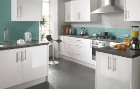 Stylish Kitchen Cabinet Doors White Gloss Cheap White Gloss - White gloss kitchen cabinets