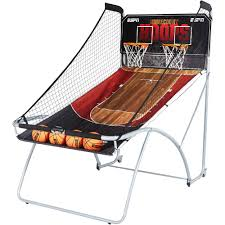 Game Room Furniture Espn Ez Fold 2 Player Basketball Game Walmart Com
