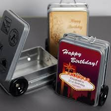 Suitcase Favors by Luggage Favors Beau Coup